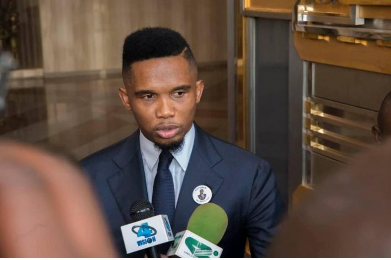 "Samuel Eto'o: les ""Footballers"" Africains ne sont pas respectés"