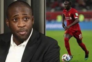 """Quand Yaya Toure défend Sadio Mané : """"Mané méritait le ballon d'or """""""