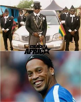 Coffin dancer & Ronaldinho