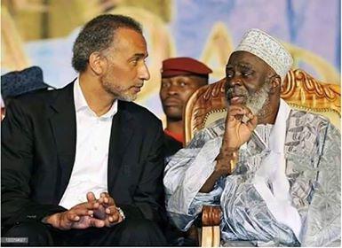 Le professeur Tariq Ramadan et Cheick Fofana