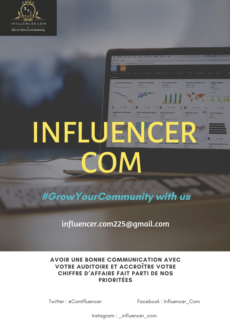 Comment accroître votre chiffre d'affaire avec Influenceur_Com ?