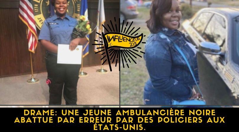 Etats-Unis: une jeune femme noire abattue à son domicile par la police