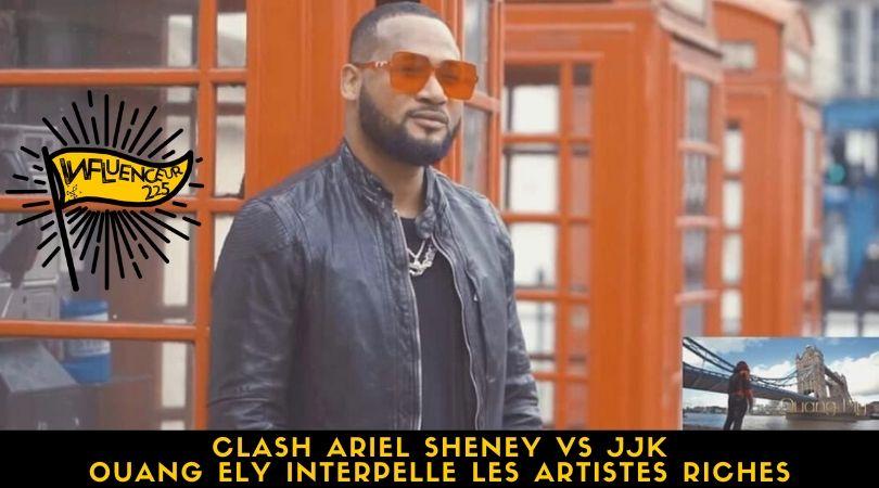 Clash Ariel Sheney Vs JJK: Ouang Ely interpelle les artistes riches du coupé décalé
