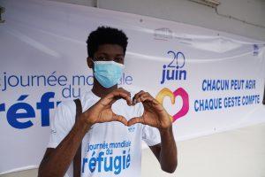 Un ivoirien fait le buzz sur twitter en l'honneur des réfugiés